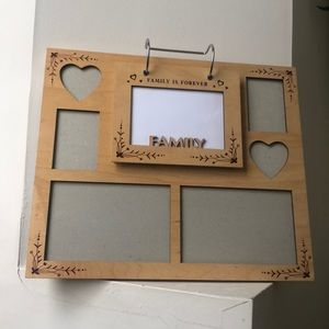Other - Large Light Color Wooden Family Picture Frame
